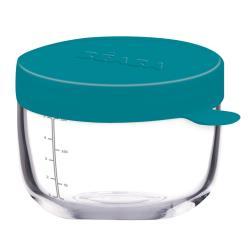 Beaba Szklany słoiczek 150ml blue