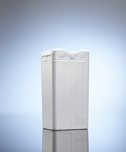 SNACK IN THE BOX Unique Pojemnik na przekąski WHITE