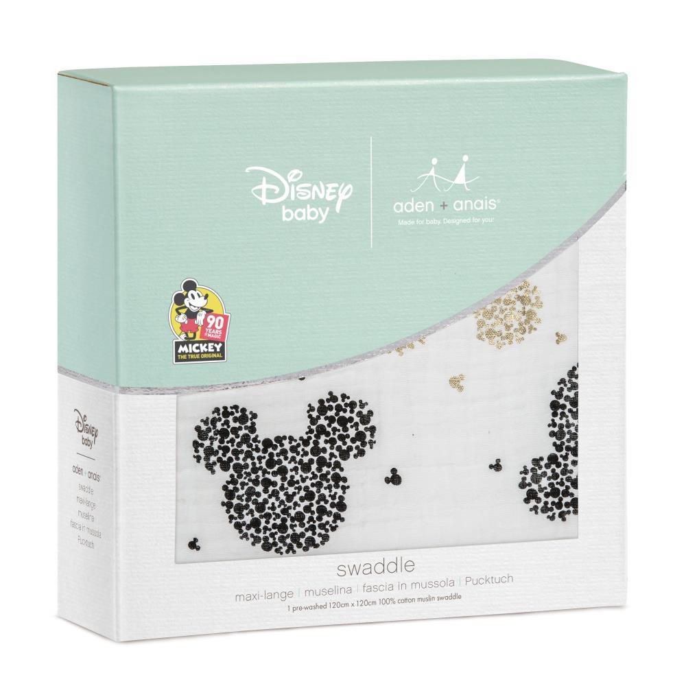 aden+anais Otulacz muślinowy Disney Mickey's 90th