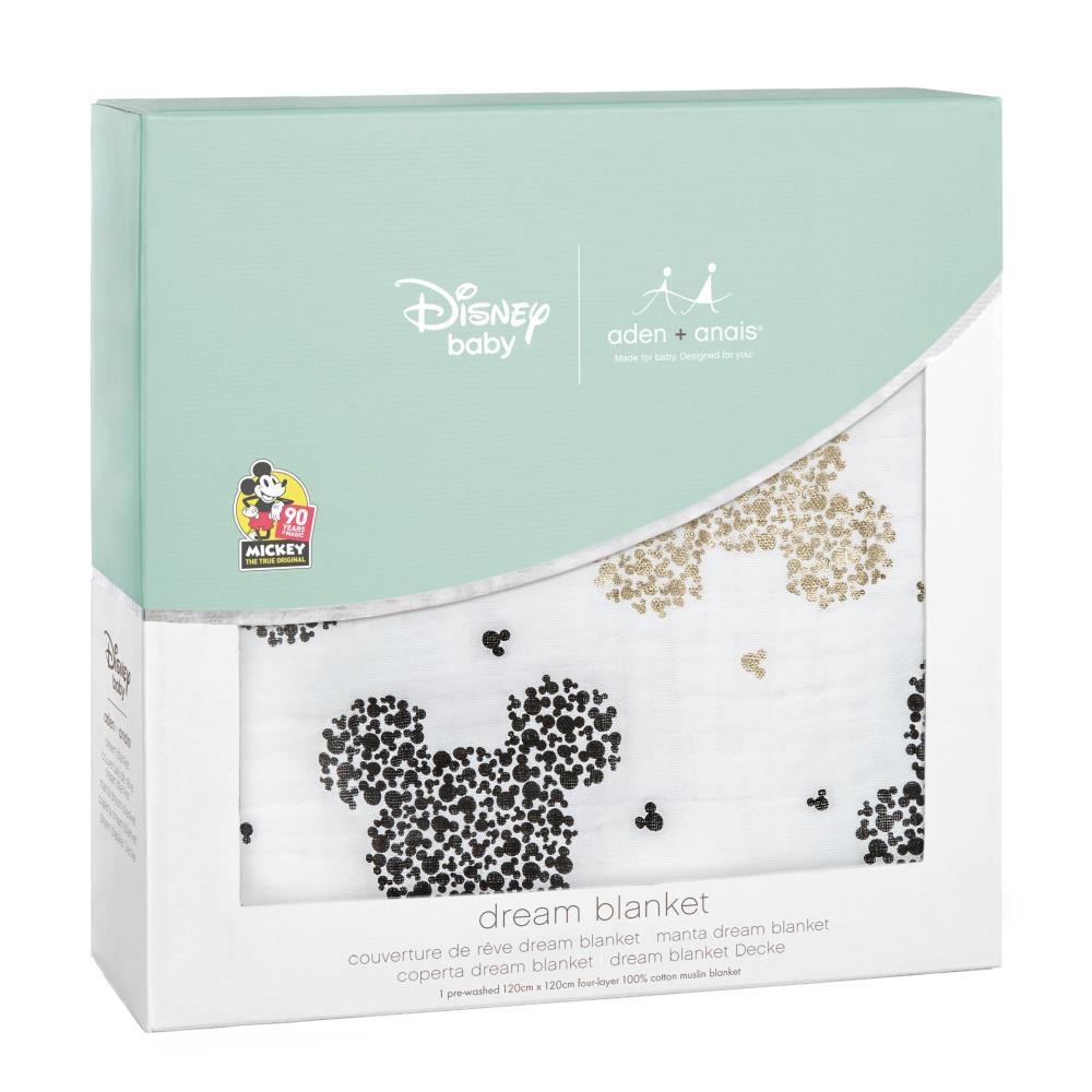 aden+anais Kołderka muślinowa Disney Mickey's 90th