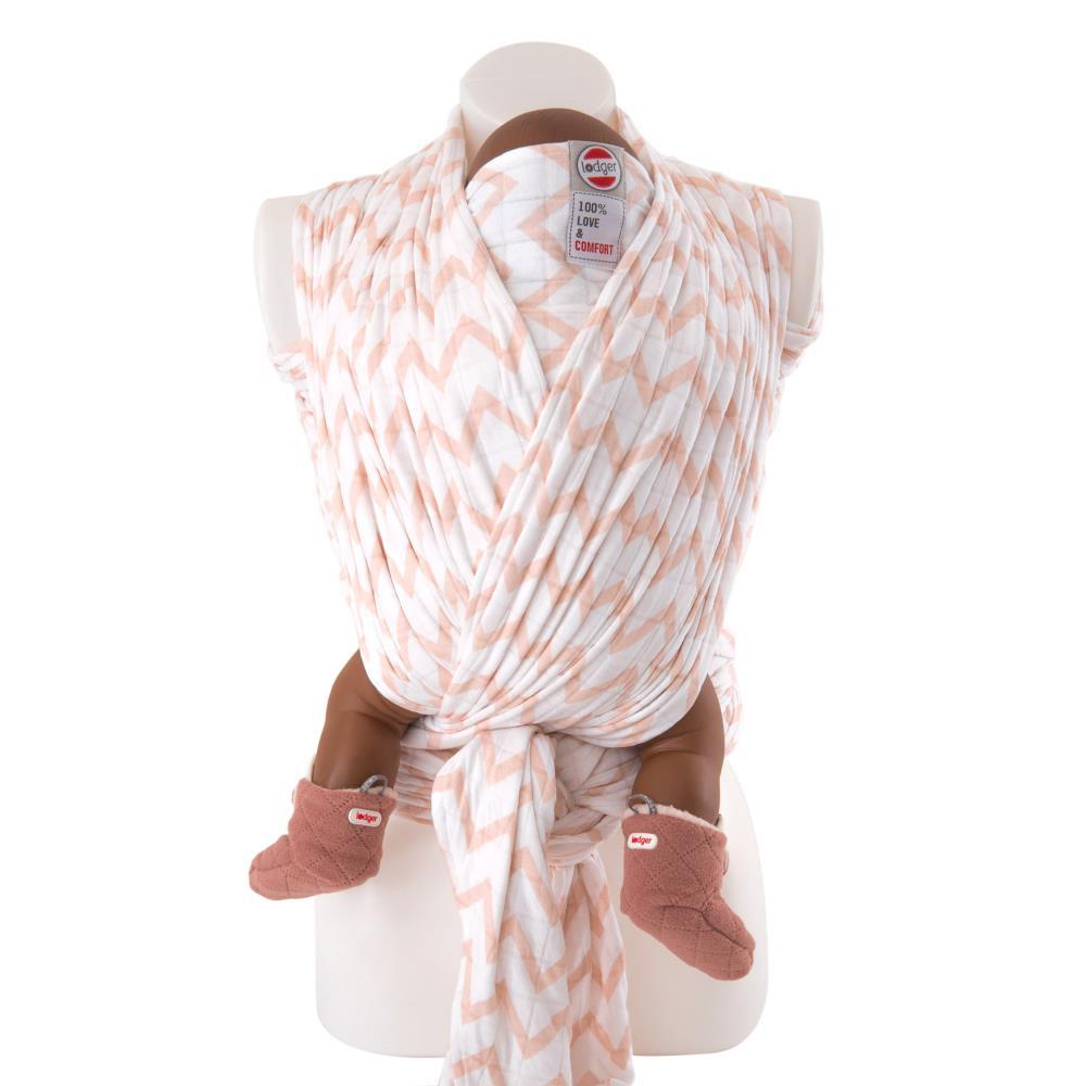 Lodger Chusta do noszenia dziecka Cocooner Nude