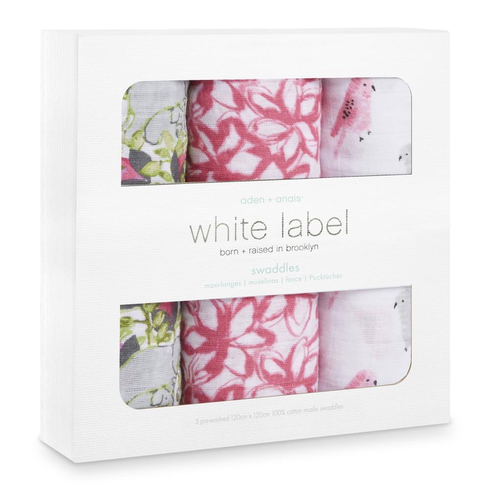 aden+anais Otulacz muślinowy White Label paradise cove 3pak