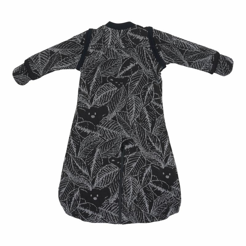 Lodger Zimowy śpiworek Hopper Sleeves Botanimal Raven 50-62