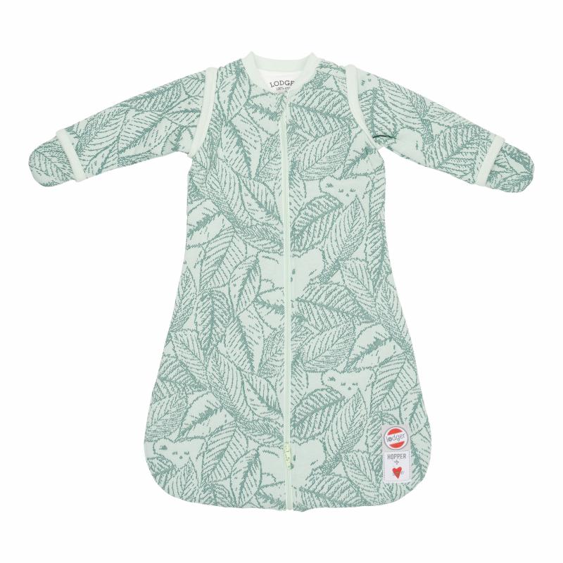 Lodger Zimowy śpiworek Hopper Sleeves Botanimal Leaf 50-62