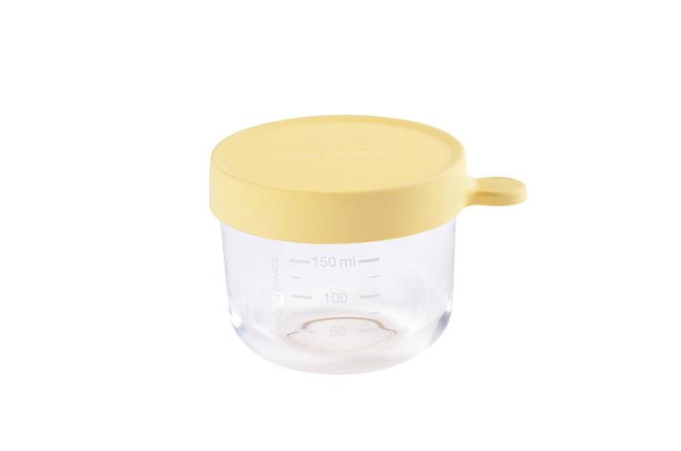 Beaba Szklany słoiczek 150ml yellow