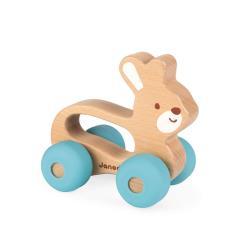 Janod Pojazd Baby Pop Królik