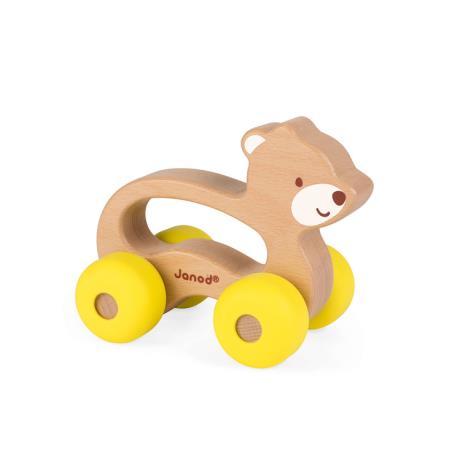Janod Pojazd Baby Pop Miś