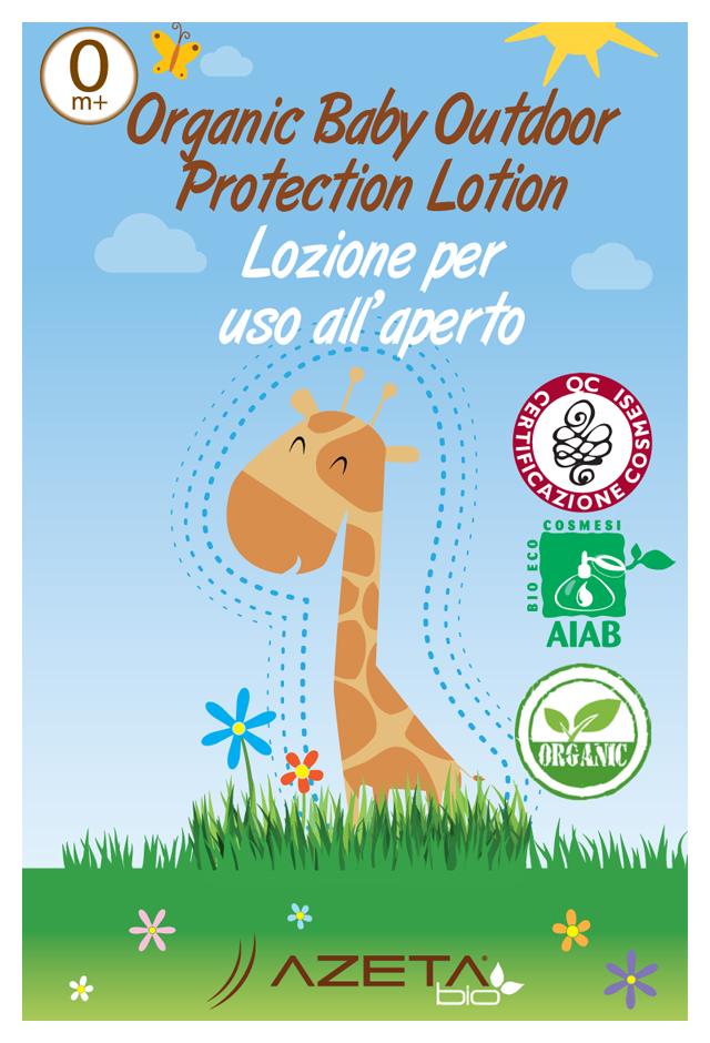 AZETAbio Organiczne mleczko ochronne przeciw komarom i owadom latającym