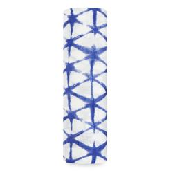 aden+anais Otulacz bambusowy indigo cubic