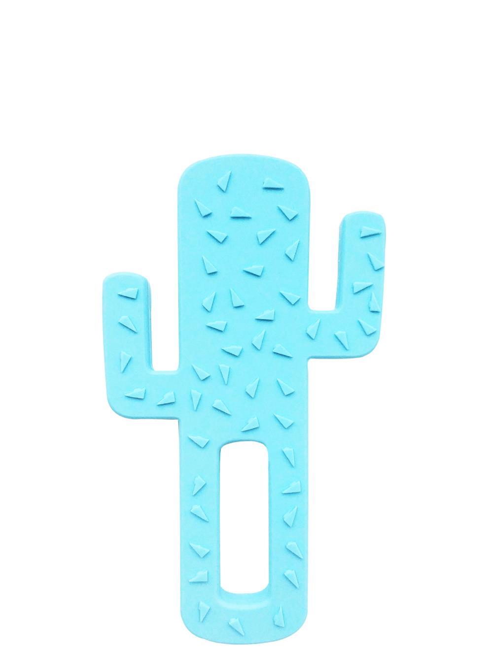 MINIKOIOI Gryzak silikonowy Kaktus niebieski