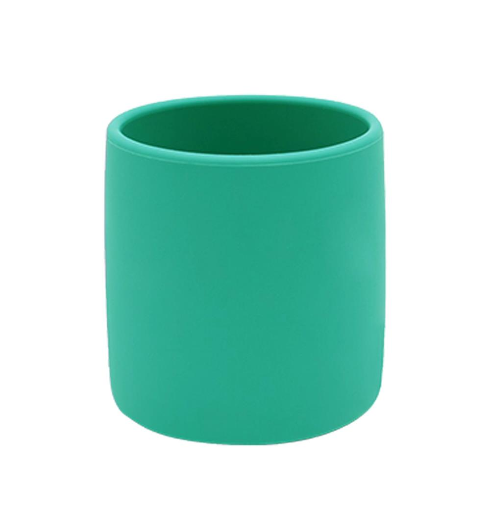 MINIKOIOI Kubeczek silikonowy zielony