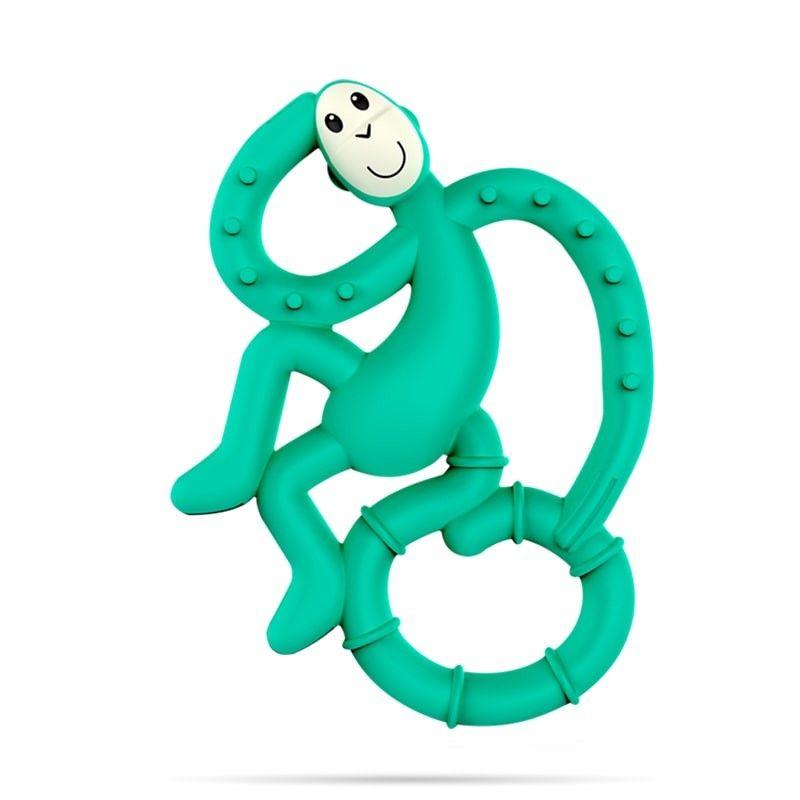 MATCHSTICK MONKEY Mini gryzak zielony