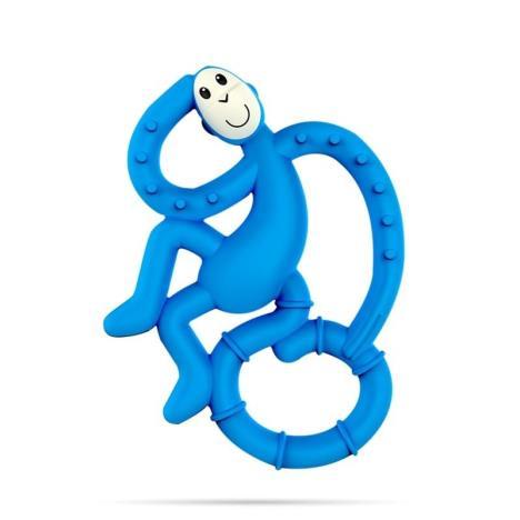 MATCHSTICK MONKEY Mini gryzak niebieski