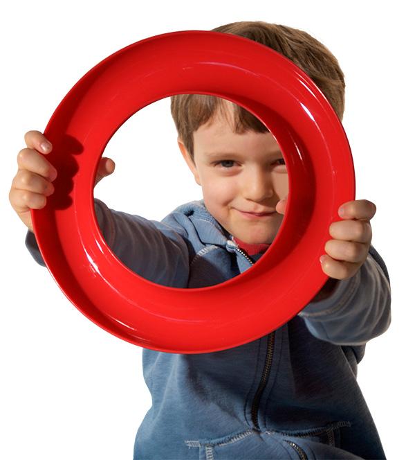 MOLUK Nello zabawka kreatywna czerwona