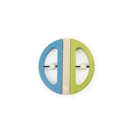 TEGU Drewniane klocki magnetyczne BABY AND TODDLER Swivel Bug Green Teal