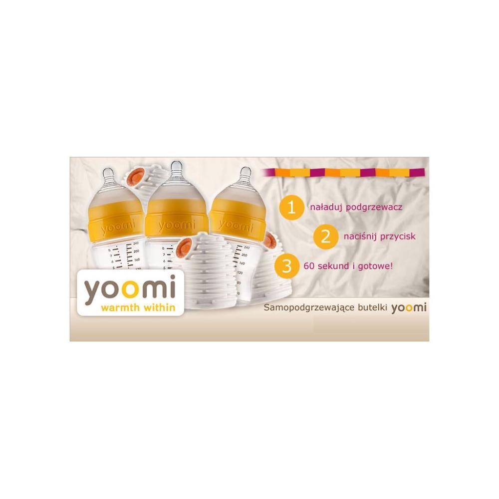 YOOMI Butelka 140ml z podgrzewaczem
