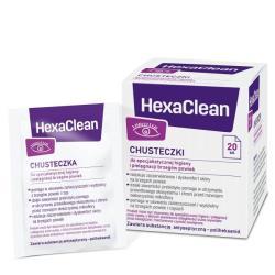 HexaClean Chusteczki do higieny i pielęgnacji brzegów powiek