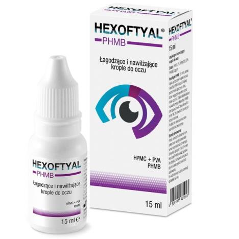 Hexoftyal PHMB krople do oczu, 15 ml