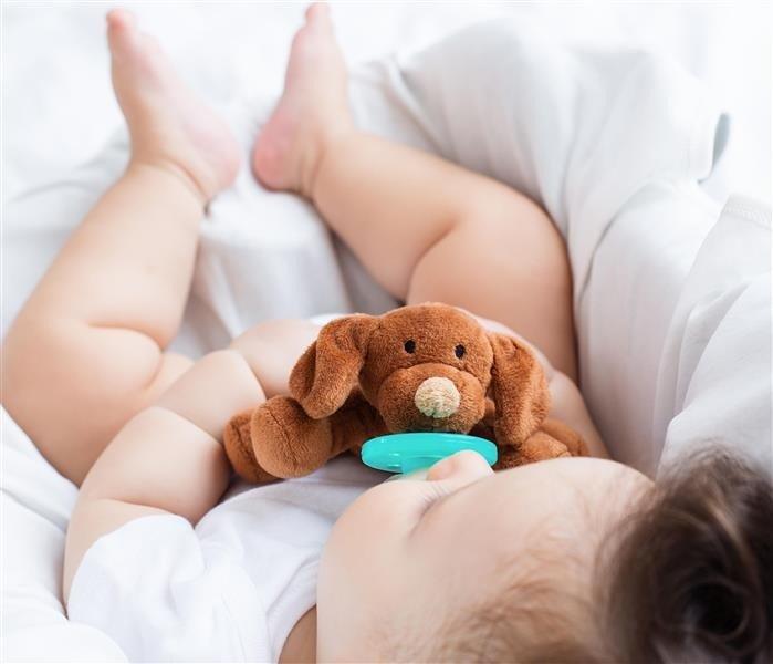 MINIKOIOI Smoczek uspokajający z przytulanką Puppy