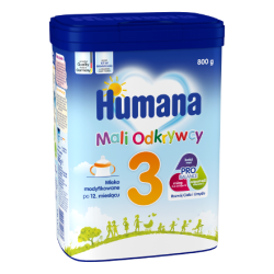 Mleko następne Humana 3 800g