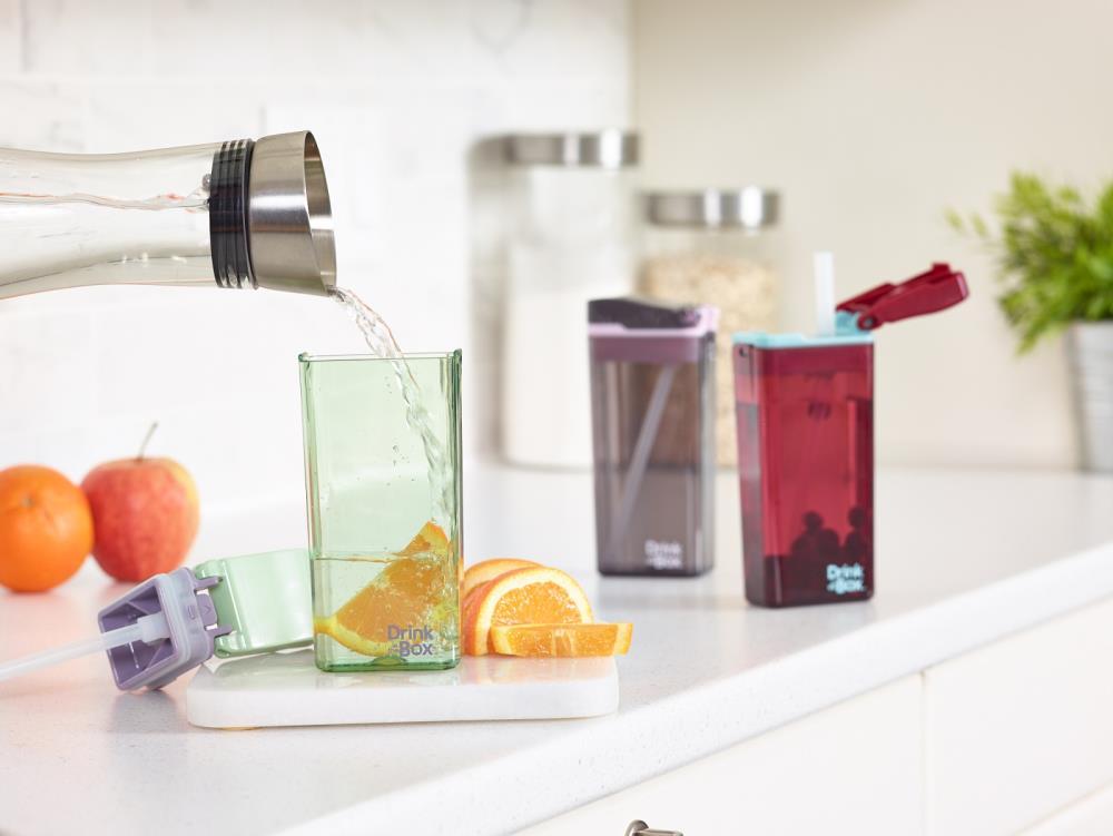 Zestaw słomek wymiennych i czyścik Drink in the Box NOWA GENERACJA