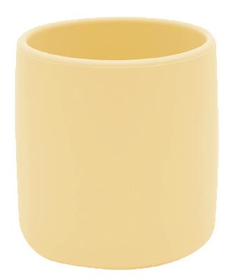 MINIKOIOI Kubeczek silikonowy żółty