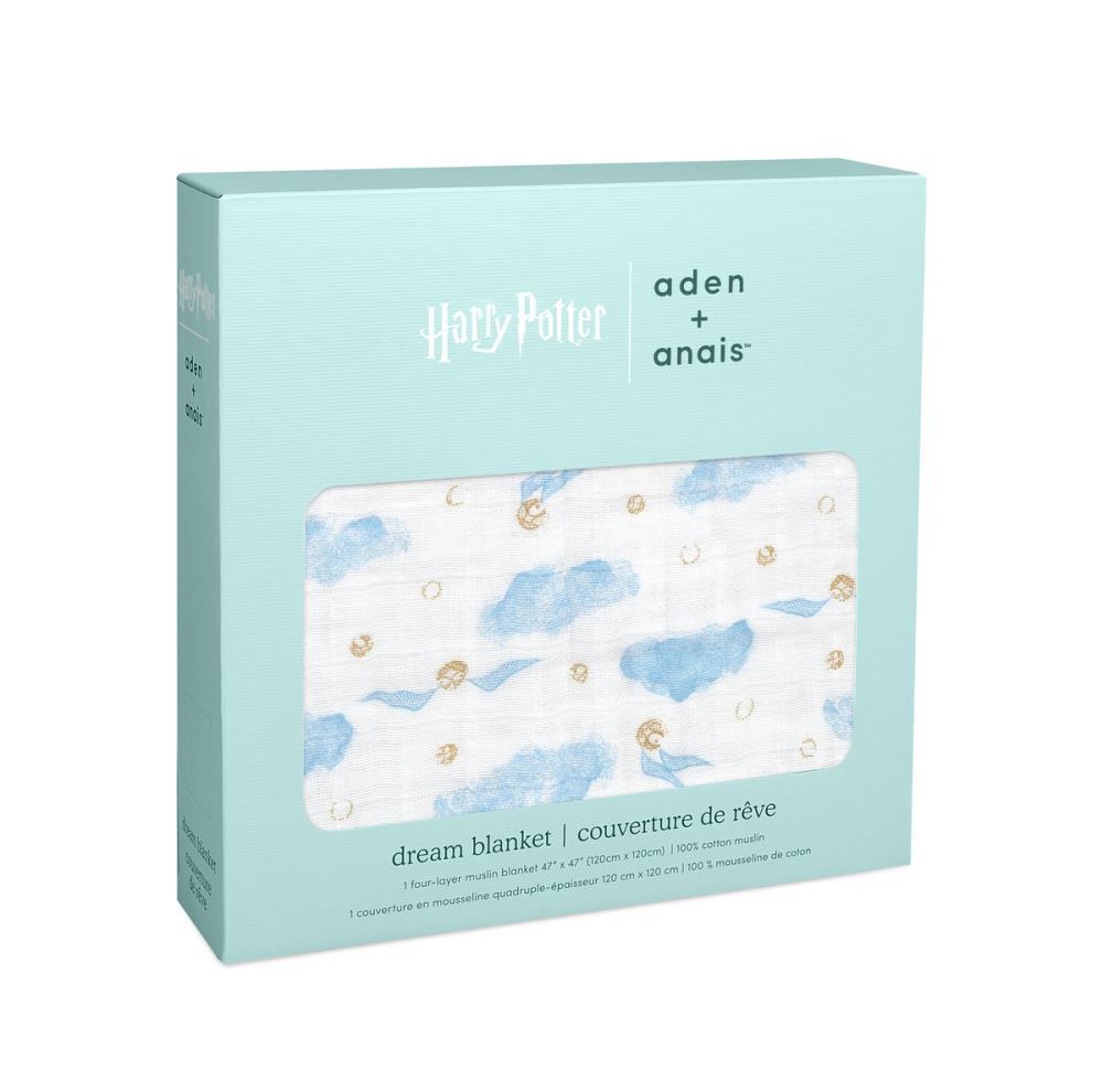 aden+anais Kołderka muślinowa Harry Potter™ iconic