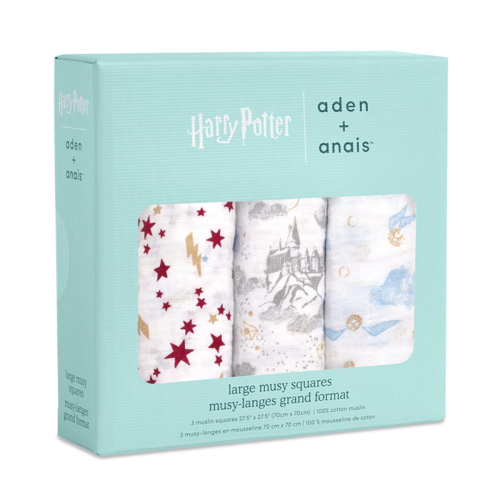 aden+anais Pieluszka muślinowa Harry Potter™ iconic musy 3 szt