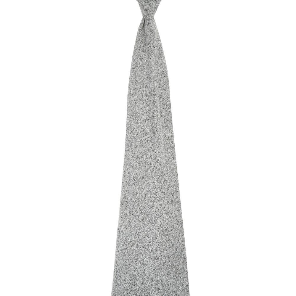 aden+anais Kocyk dzianinowy Snuggle Knit heather grey