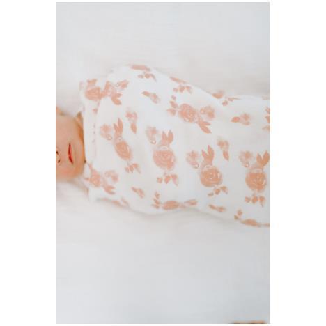 aden+anais Kocyk dzianinowy Snuggle Knit rosettes