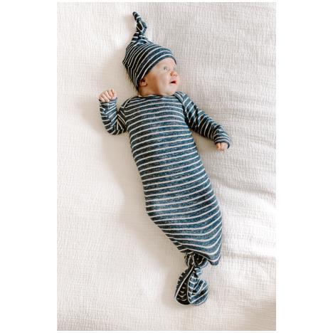 aden+anais Śpiworek dzianinowy Snuggle Knit navy stripe