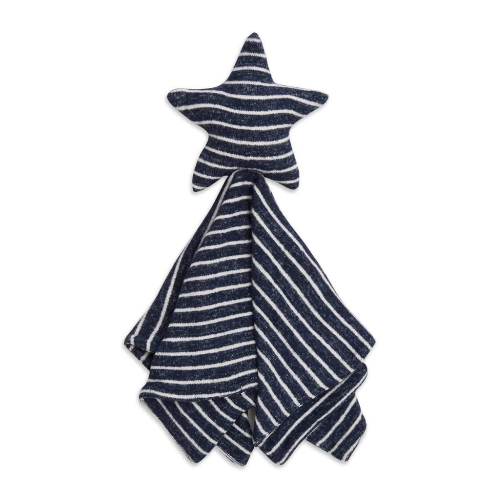 aden+anais Przytulanka dzianinowa Snuggle Knit Lovey navy stripe