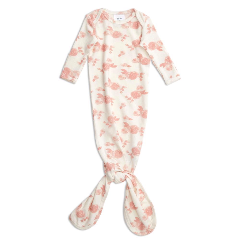 aden+anais Śpiworek dzianinowy Snuggle Knit rosettes