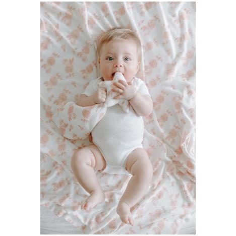 aden+anais Przytulanka dzianinowa Snuggle Knit Lovey rosettes