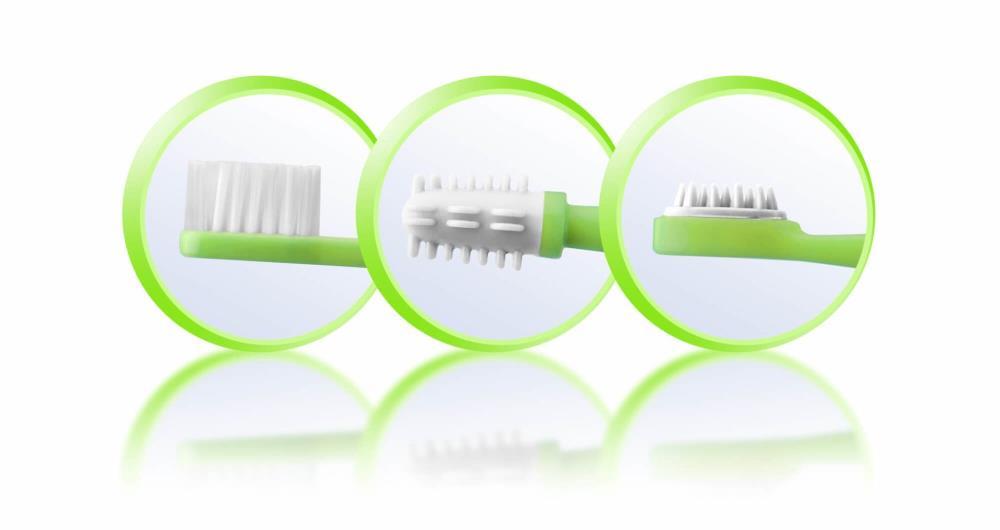 Reer Szczoteczki do zębów dzieci niemowląt 3m-cy+