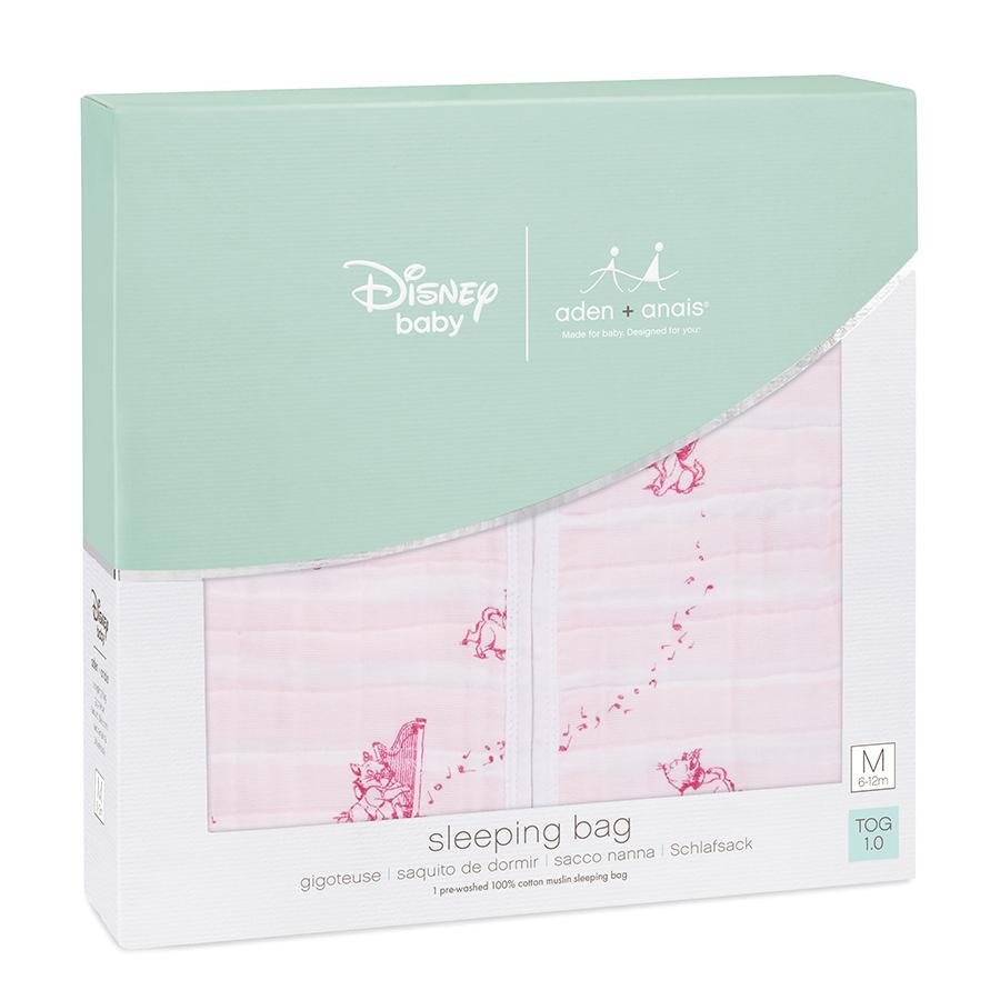 aden+anais Śpiworek muślinowy Disney Aryskotraci rozmiar XL