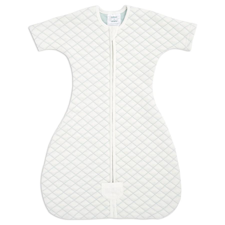 aden+anais Śpiworek snug fit sleeved cream/mint rozmiar M