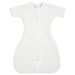 aden+anais Śpiworek snug fit sleeved cream/mint rozmiar M