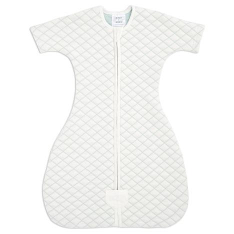 aden+anais Śpiworek snug fit sleeved cream/mint rozmiar L