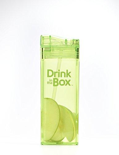 Kopia DRINK IN THE BOX Bidon ze słomką blue 240ml