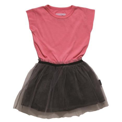 NUNUNU BABY Sukienka neon różowy bajeczna tutu 6-12m