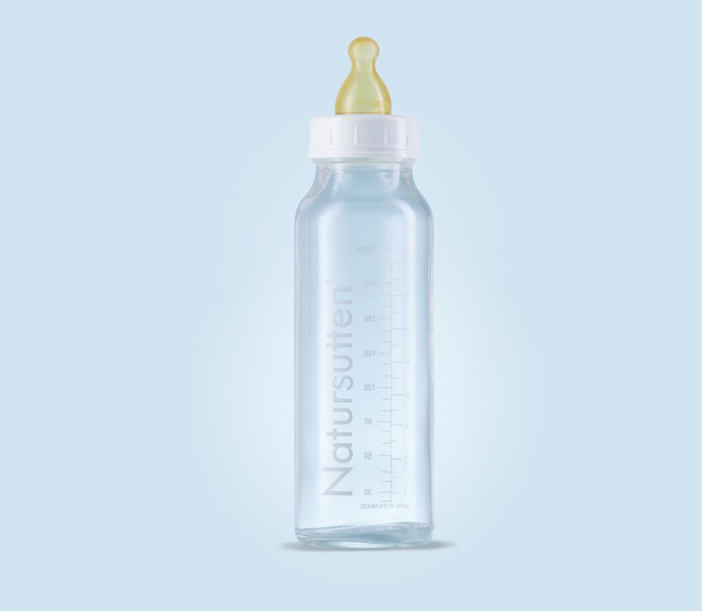 Natursutten Szklana butelka do karmienia 240ml 2szt