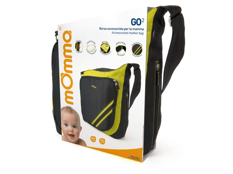 mOmma Torba na akcesoria dla dziecka Go2