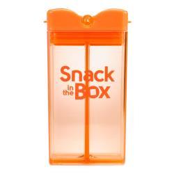 SNACK IN THE BOX Pojemnik na przekąski ORANGE