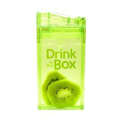DRINK IN THE BOX CLASSIC Bidon ze słomką GREEN 240 ml