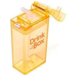 DRINK IN THE BOX Bidon ze słomką orange 240ml