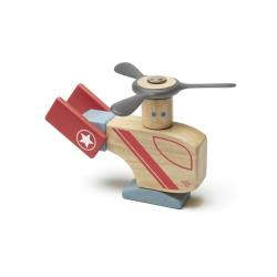 TEGU Drewniane klocki magnetyczne STUNT TEAM Looper