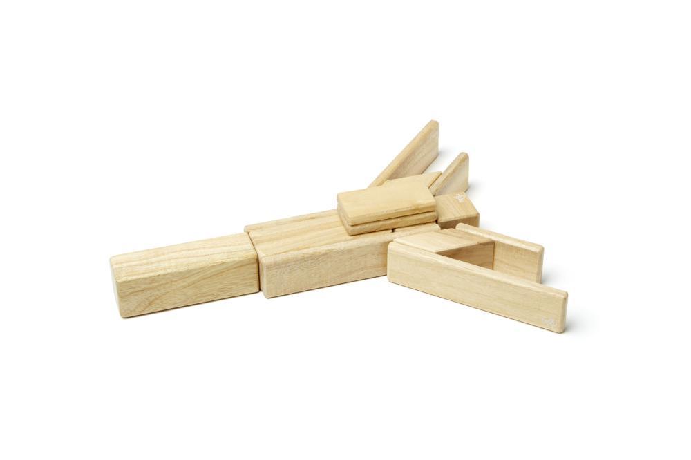 TEGU Drewniane klocki magnetyczne CLASSICS zestaw 14szt Natural