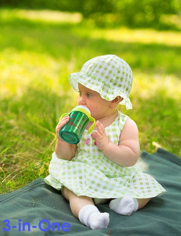 Pacific Baby Smoczki do butelki średni przepływ 3m+